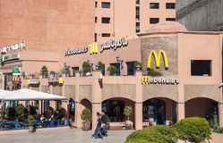 Mc Donalds restaurant in Marrakesh Stock Photo