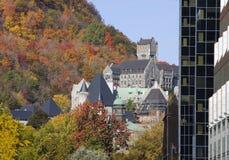 Mc Gill University in autumn Royalty Free Stock Photos