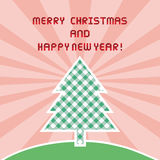 MC and HNY greeting card1 Stock Image