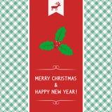 MC and HNY greeting card6 Royalty Free Stock Image