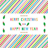 MC and HNY greeting card15 Stock Images