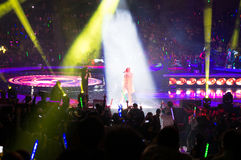 Mc hotdog Shanghai live show Royalty Free Stock Photography