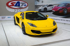 MC LAREN MP4-12C SPIDER Royalty Free Stock Photography