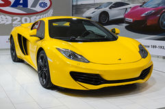 MC LAREN MP4-12C SPIDER Stock Photography