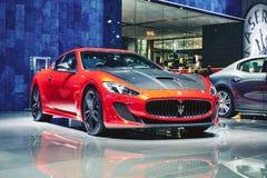 2016 MC Stradale van Maserati GranTurismo Royalty-vrije Stock Afbeeldingen
