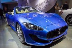 2015 MC van Maserati GranTurismo Honderdjarige Uitgavencoupé Stock Afbeeldingen