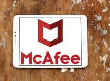 McAfee firmy logo Obrazy Royalty Free