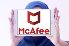 McAfee firmy logo Fotografia Royalty Free