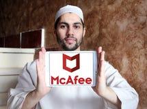 McAfee firmy logo Zdjęcia Stock