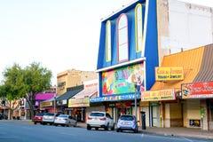 McAllen do centro, Texas fotos de stock