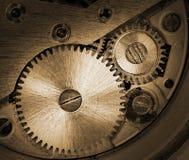Mécanisme d'horloge Photographie stock