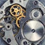 Mécanisme d'horloge Photographie stock libre de droits