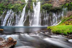 McArthur Burney falls, Burney, California, United States Royalty Free Stock Photo