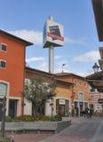 McArthurGlen-Designer Outlet Barberino in Italien Stockbilder