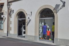 McArthurGlen-Designer Outlet Barberino in Italien Stockfoto