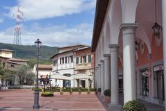 McArthurGlen-Designer Outlet Barberino in Italien Stockfotos