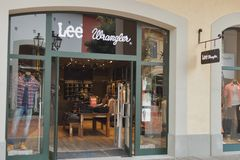 McArthurGlen Designer Outlet Barberino in Italy stock images