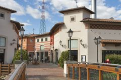 McArthurGlen Designer Outlet Barberino in Italy Royalty Free Stock Photos