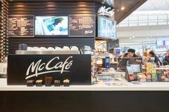 McCafe royalty-vrije stock foto