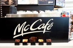 McCafe royalty-vrije stock afbeeldingen