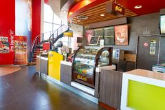 McCafe Royalty Free Stock Photography