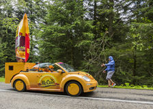 McCain Vehicle - Le Tour de France 2014 Royalty Free Stock Image
