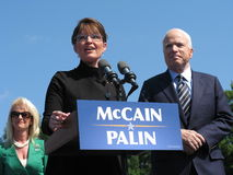 McCains and Sarah Palin Royalty Free Stock Images