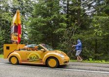 McCainvoertuig - Le-Ronde van Frankrijk 2014 Royalty-vrije Stock Afbeelding