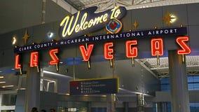 McCarran lotnisko międzynarodowe LAS Zdjęcie Royalty Free