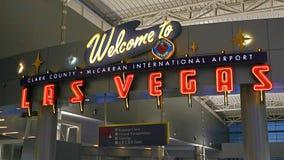 McCarran lotnisko międzynarodowe LAS Zdjęcia Royalty Free