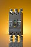 MCCB (interruptor moldado do caso) Fotos de Stock Royalty Free