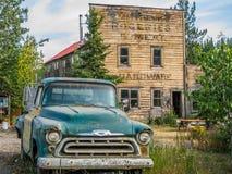 McCharthy, национальный парк Wrangell-St Ильи, Аляска Стоковые Изображения