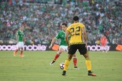 Mccleary i Chicharito podczas Copa Ameryka Centenario Obrazy Royalty Free