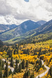 McClure-Durchlauf Colorado im Herbst Stockfoto