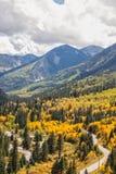 McClure Pass Colorado in Autumn Stock Photo