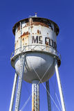 McClure Water Tower. McClure, Ohio, USA - September 27, 2015: The McClure Water Tower  in Henry County, Ohio, USA Stock Image