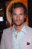 McConaughey, Matthew Stock Photo