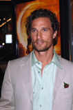 McConaughey, Matthew Royalty Free Stock Image