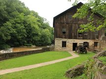 McConnells磨房国家公园- Portersville,宾夕法尼亚 图库摄影