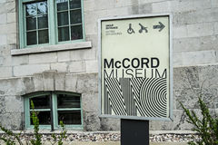 McCordmuseum stock foto