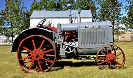 McCormick Deering, тракторы Стоковые Изображения RF