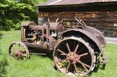 McCormick-Deering gasoline tractor Stock Image