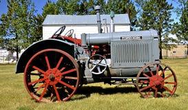 McCormick Deering, tractoren Royalty-vrije Stock Afbeeldingen