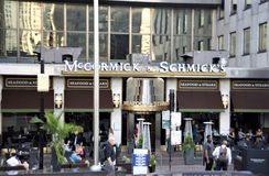 McCormick e Schmicks, Chicago, IL fotos de stock