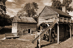 McCormick Farm - Shenandoah Valley,USA. Walnut Grove, Virginia USA – August 11th; In 1831 Cyrus McCormick invented the first reaper that revolutionized the Royalty Free Stock Photos