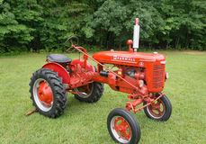 McCormick Farmall Antique Tractor royalty free stock photography