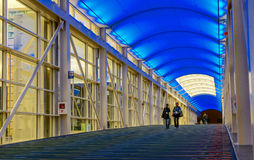 McCormick Place Chicago. Walkway at McCormick Place in Chicago Stock Photography