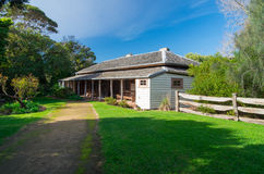McCrae Homestead on the Mornington Pensinsula Stock Photo