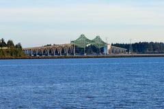 McCullough Memorial Bridge in Oregon Stock Photo