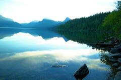 McDonald湖 库存图片